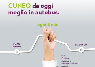 Cuneo: da oggi meglio in autobus