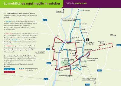 Savigliano: da oggi meglio in autobus
